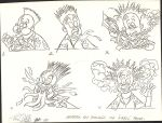 Animation key drawings for a promo project by PierreDeCelles