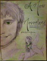 A New Neverland Title Page by DarienRachelle27