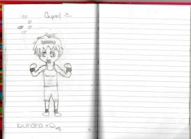 Gackt Chibi - In our Gym class by bemybadboy