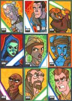 Topps Star Wars Galaxy 6 - 02 by JoeHoganArt
