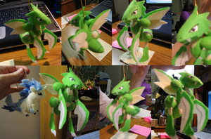 Scyther Bell Plush Commission by Soudaiya