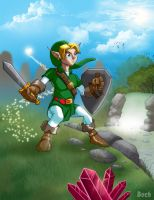 Legend of Zelda by MikeBock