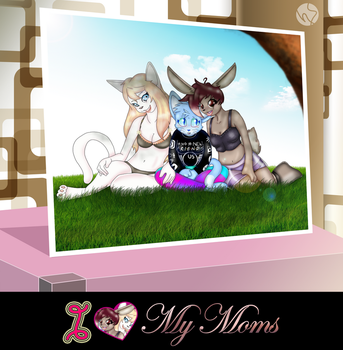 My 2 Moms - [Juliusrabbito Mothers day CE] by Numbsoul