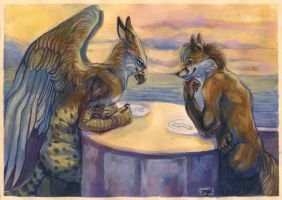 Dinner date by Iagal
