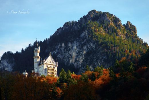 Neuschwanstein. by Phototubby
