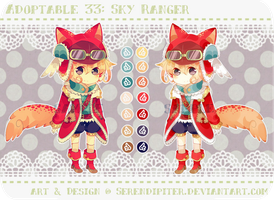 [CLOSED] Adoptable 33: Sky Ranger by Serendipiter