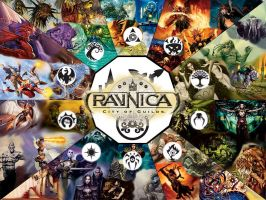 Ravnica Loading screen by Dsurion