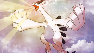 Lugia Wallpaper by brioche-of-destiny