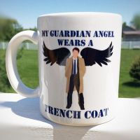 Guardian Angel - Mug by dalmation1080