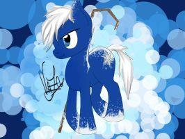 Jack Frost pony by GiNeTtA97