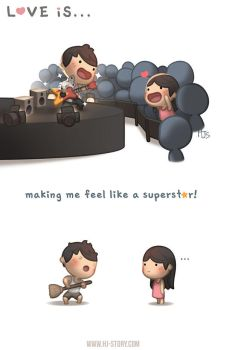Love is... Superstar! by hjstory