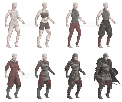 OUTFIT BREAKDOWN GO by kyuubifred
