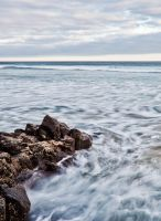 Philip Island - rocks by ShaunyeWest