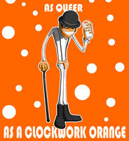 As queer as a clockwork orange by Emanhattan