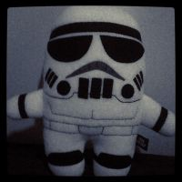 Plush Trooper by KarlaJaneDarling