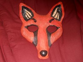 Fox Mask by AssassinsCreedTroy