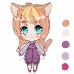 dolly  Neko adoptable  Closed by veronica1134