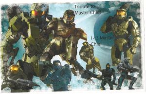 My Tribute To Master Chief by Frostyzzz