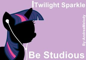 Ipod My Little Pony Version (Twilight Sparkle) by AndreaSemiramis