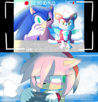 Sonic! You're ruining the shot! by MaddieBat
