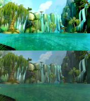 Comparison Screenshot/Manipulation (Pandaria) by sioranth