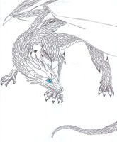 Whitethorn dragon by Hawkfire11111