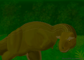 Carnotaurus speedpaint by Weirda208