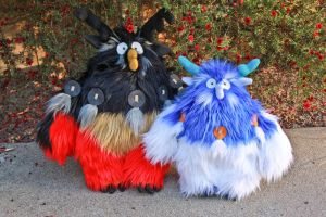 WoW Alliance Moonkin Plush by arixystix