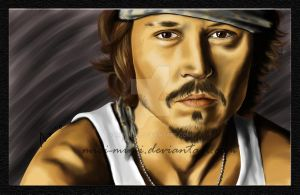Johnny Depp by mici-mimi