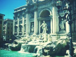 Trevi fountain by The-Lauz-Effect