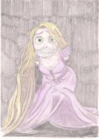 rapunzel restrained 2 by thunderingpikachu