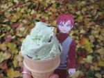 Gaara's ice cream by kitkatnis
