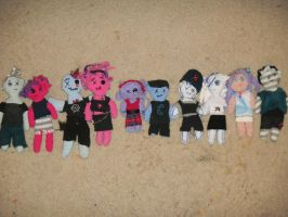 All Of My Rag-Dolls by The-Lighted-Soul