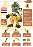 Cleo the Sphinx by A-Lil-RnR