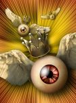 Royal Flying Eyeballs by hourglassthorne
