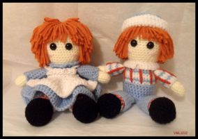 Raggedy Ann and Andy by VML1212