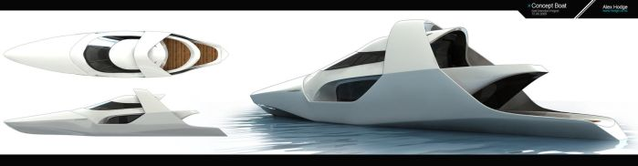 Concept Boat by L-X
