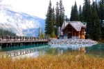 Emerald Lake Lodge by onejumpjohnny