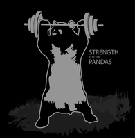 Strenght for the pandas by Sergiohead