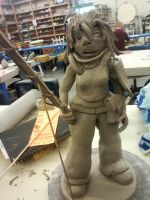 ceramics 4: project 3 ( BIGGER FIGURE ) by ownerfate
