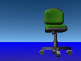desk chair by lucidfairy
