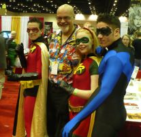 3 Robins and George Perez by netogrof