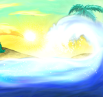 Sunset Isle 2 by Newtypemo