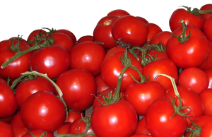 Pile of Tomatoes by StockChroma