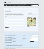 Powerton Theme - Contacts Page by ZERGEV