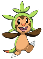 Chespin by Fishlover