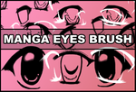 Manga eyes brush by Faeth-design