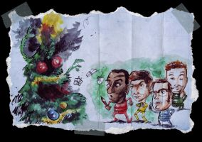 Christmas 2008 Tree Attack by steverinoz