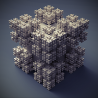 Cubic fortress by p0pSyK4t