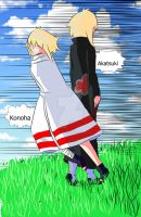 Naruto cloaks by Pickle8Weasel92